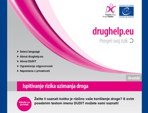 Samoprocjena rizika povezanih s konzumiranjem droga – DUDIT test (Drug Use Disorders Identification Test)